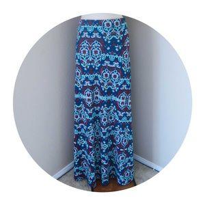 LuLaRoe Maxi Skirt Large